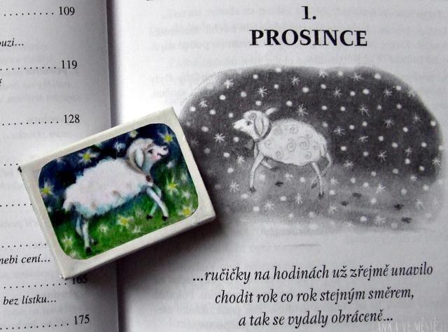 Kouzelný kalendář Josteina Gaardera a jím inspirovaný adventní kalendář z krabiček od sirek